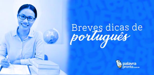 Breves dicas de português